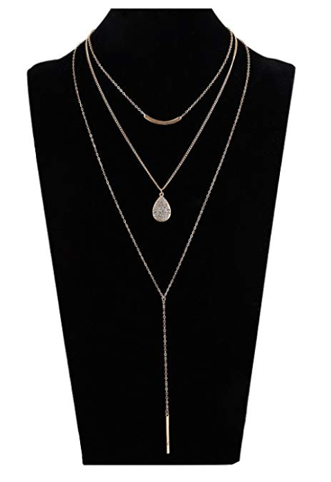Amazon Seni Jewelry- Long Boho Layered Necklace