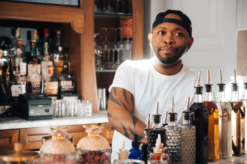 Meet Your Bartender… - Darrow Beach@baldbartendernyc