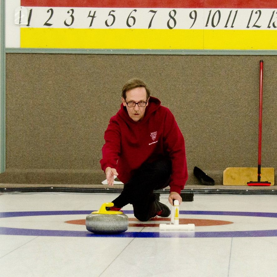 Steve Makela - Steve Makela started curling in 2014. A transplant from Detroit, he works as a Nurse at St. Marys. The last Olympics inspired him to attend a