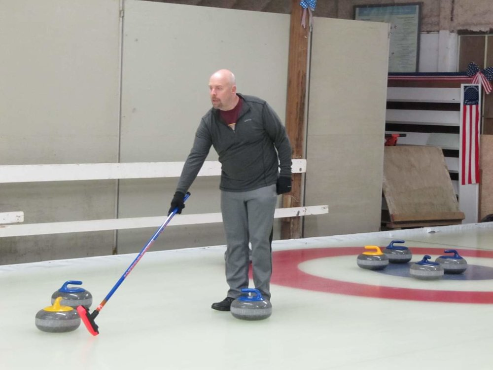 Matt Raveling - Matt Raveling was interested in curling for many years but had never curled until a fun learn to curl activity with friends in 2015. He started league participation at the formation of the Curling Club of Rochester in 2017. Matt has been fortunate enough to ride the coattails of his teammates to three curling championships. He has previously participated on other boards and managed amateur sports teams, often handling communication, logistics, web, and social media activities. When not curling, Matt is an IT manager for Mayo Clinic, a Minnesota sports fan, and likes to travel with his wife, Melissa.
