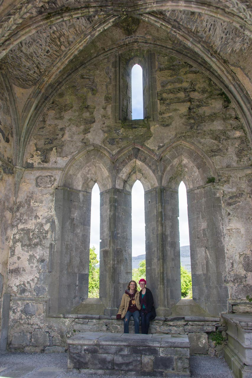 Corcomroe Abbey and us!
