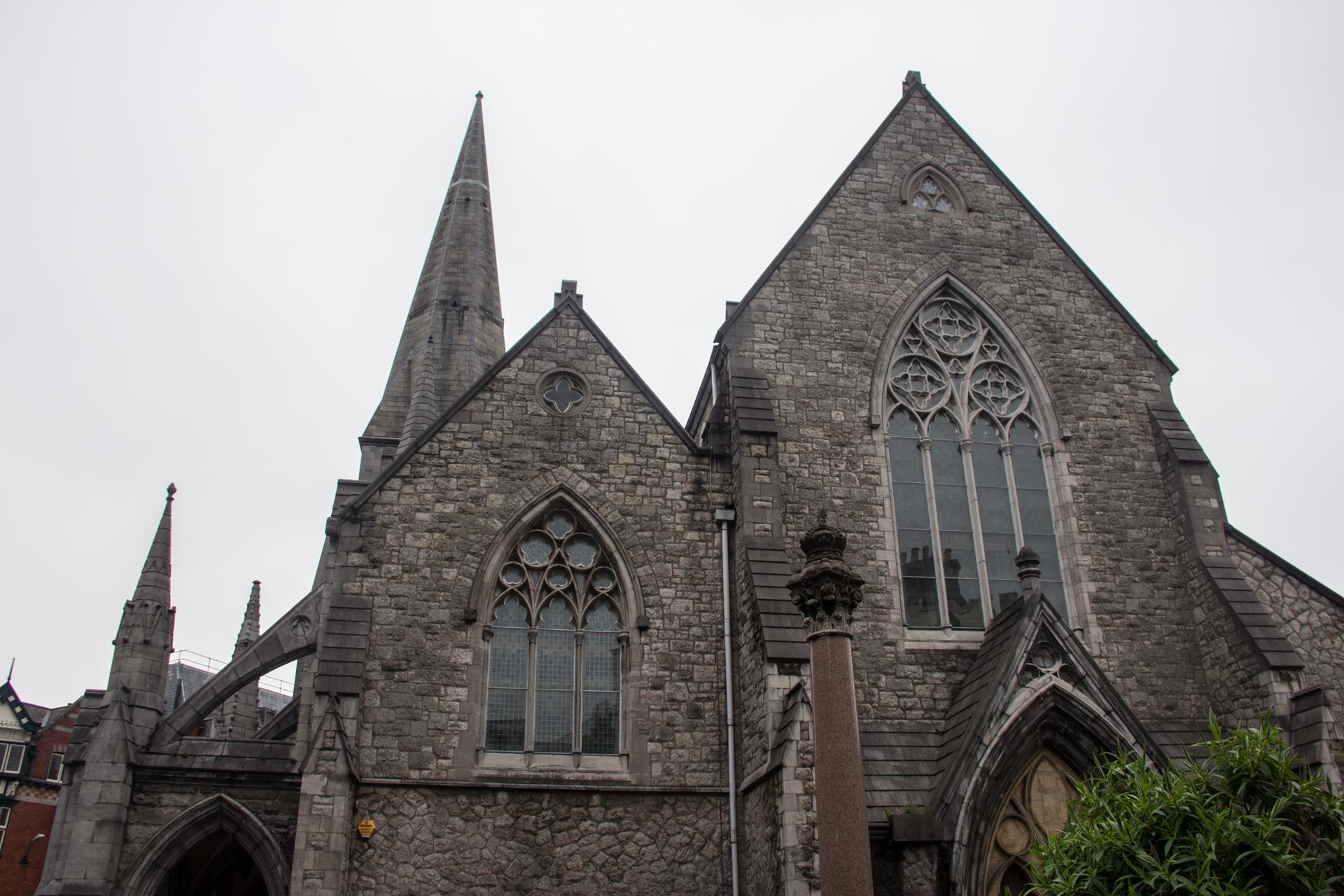 "Central Dublin- a church which everyone simply refers to as ""The Old Church""-which I have a problem with for obvious reasons..."