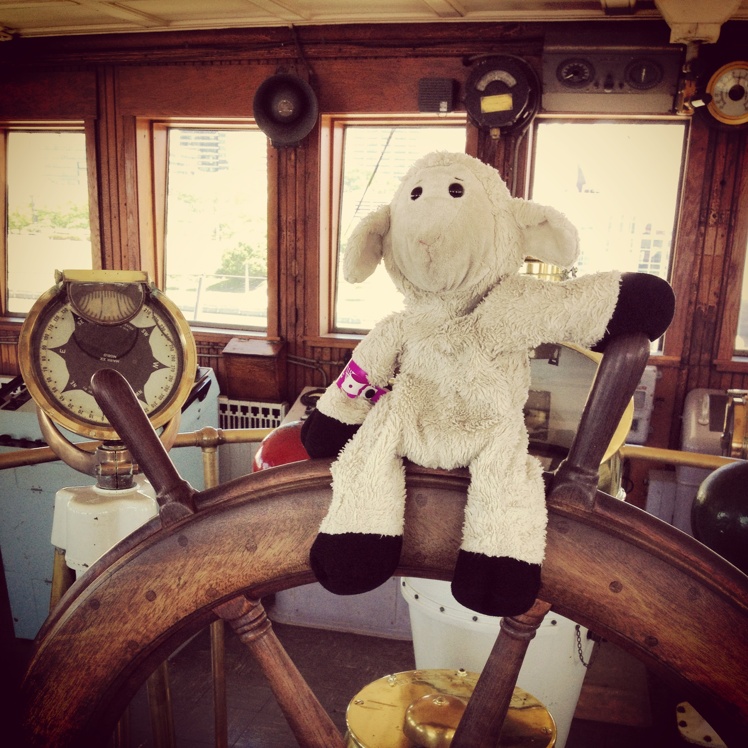 Captain Sheep of the USS William G Mather- Full speed ahead, skipper!
