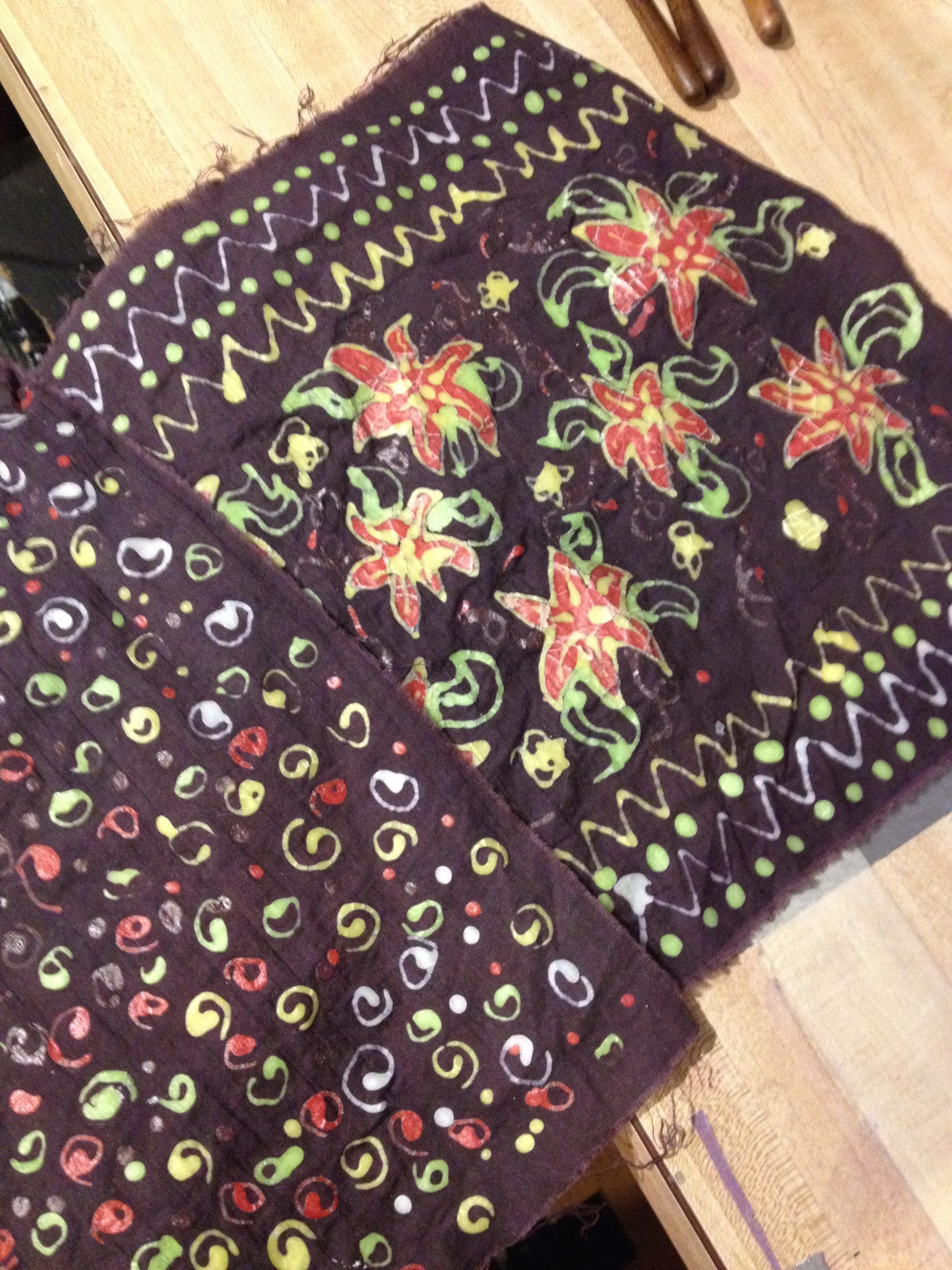 batik example fabric