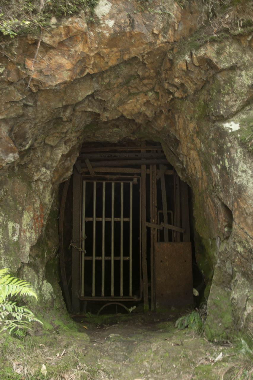 karangahake gorge mine shaft door