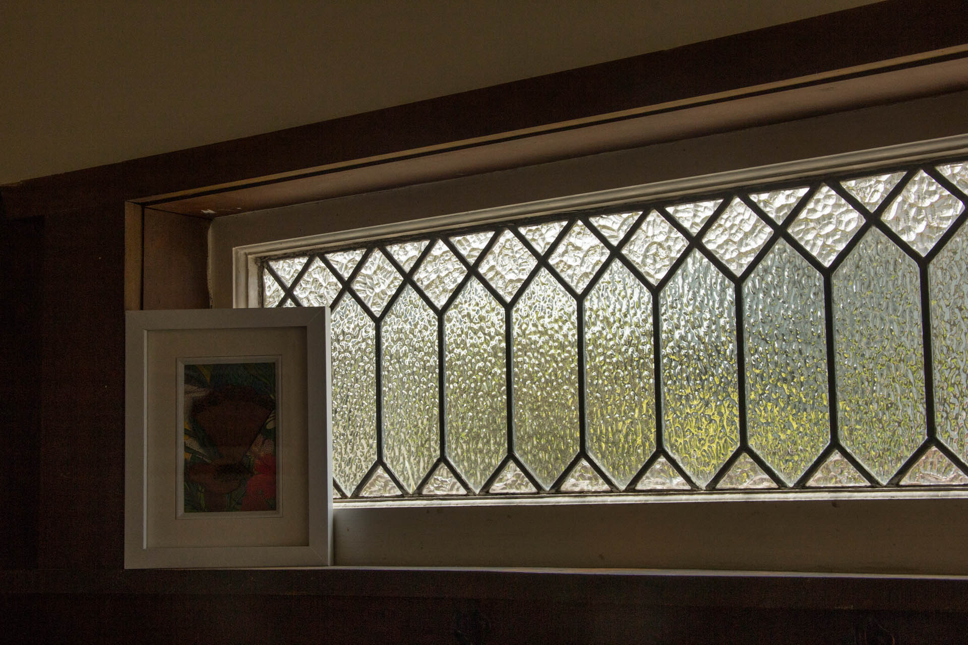 original lead glass window