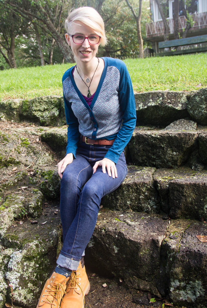 (Pay no attention to the jeans muslin with the wonky twisted-grainline denim)