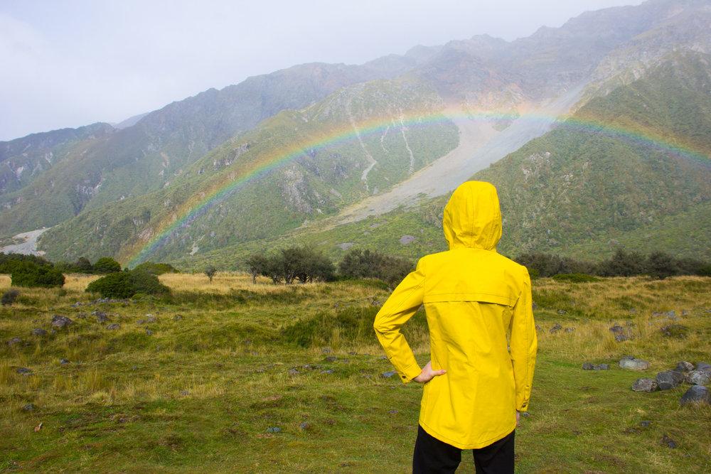 classic yellow rain jacket new zealand