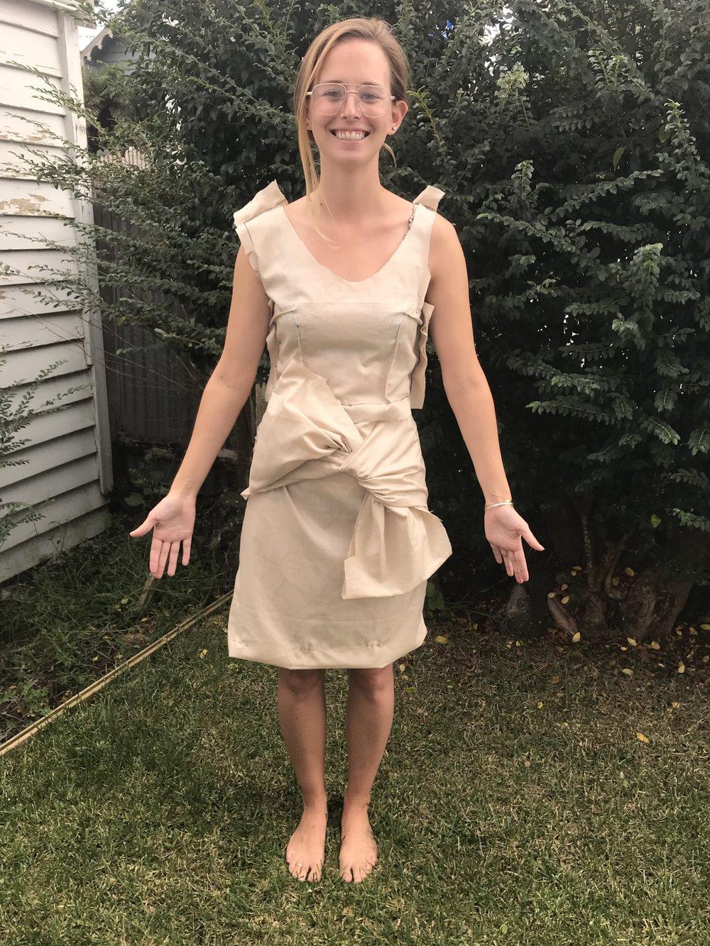 custom dressmaking muslin