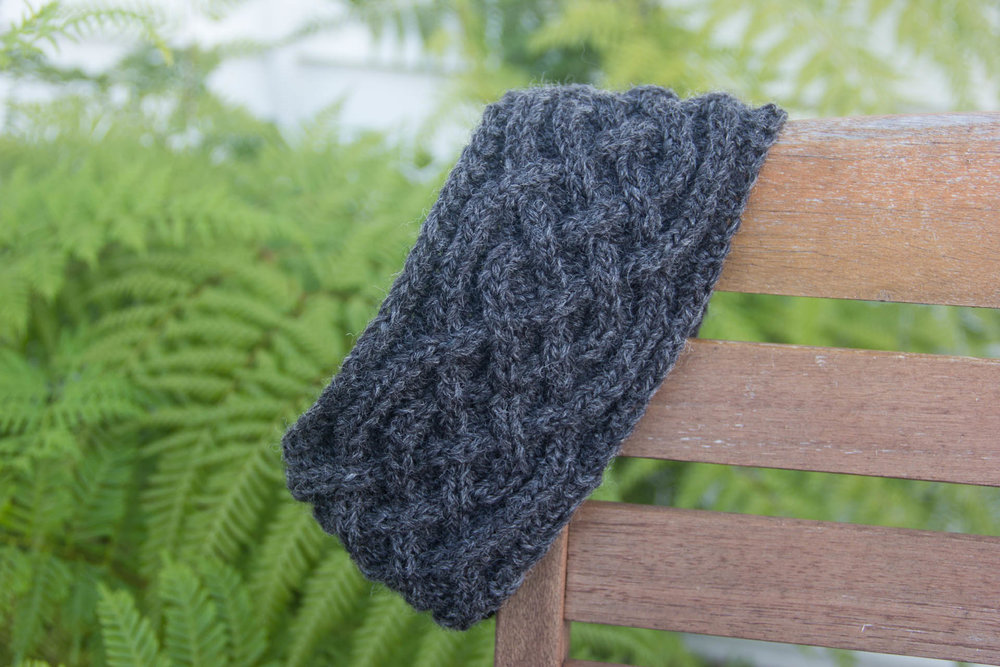 saxon braid earwarmer