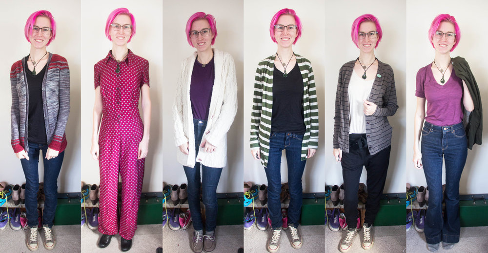 me made may week 1 outfits