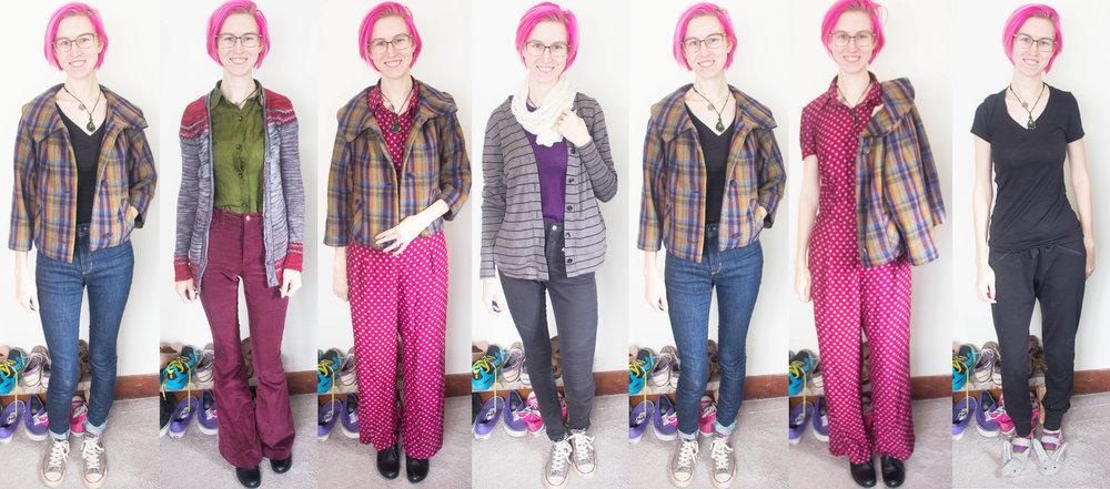 week three handmade outfits