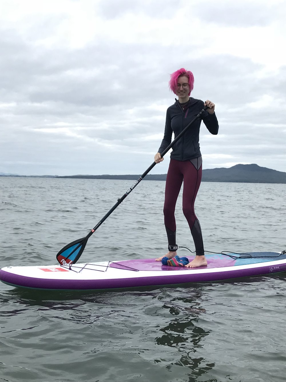 handmade paddleboard leggings