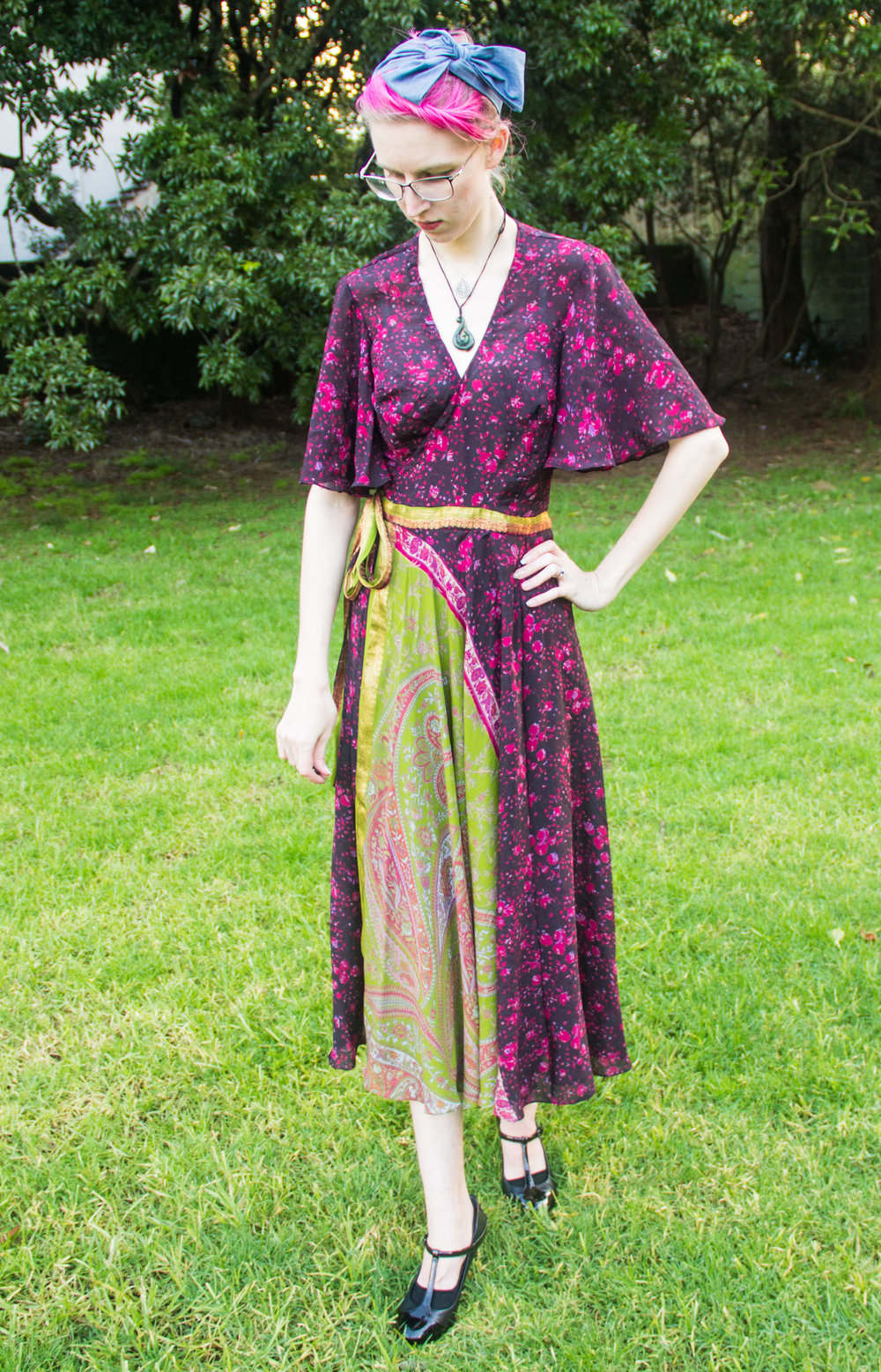 sewing blog birthday dress