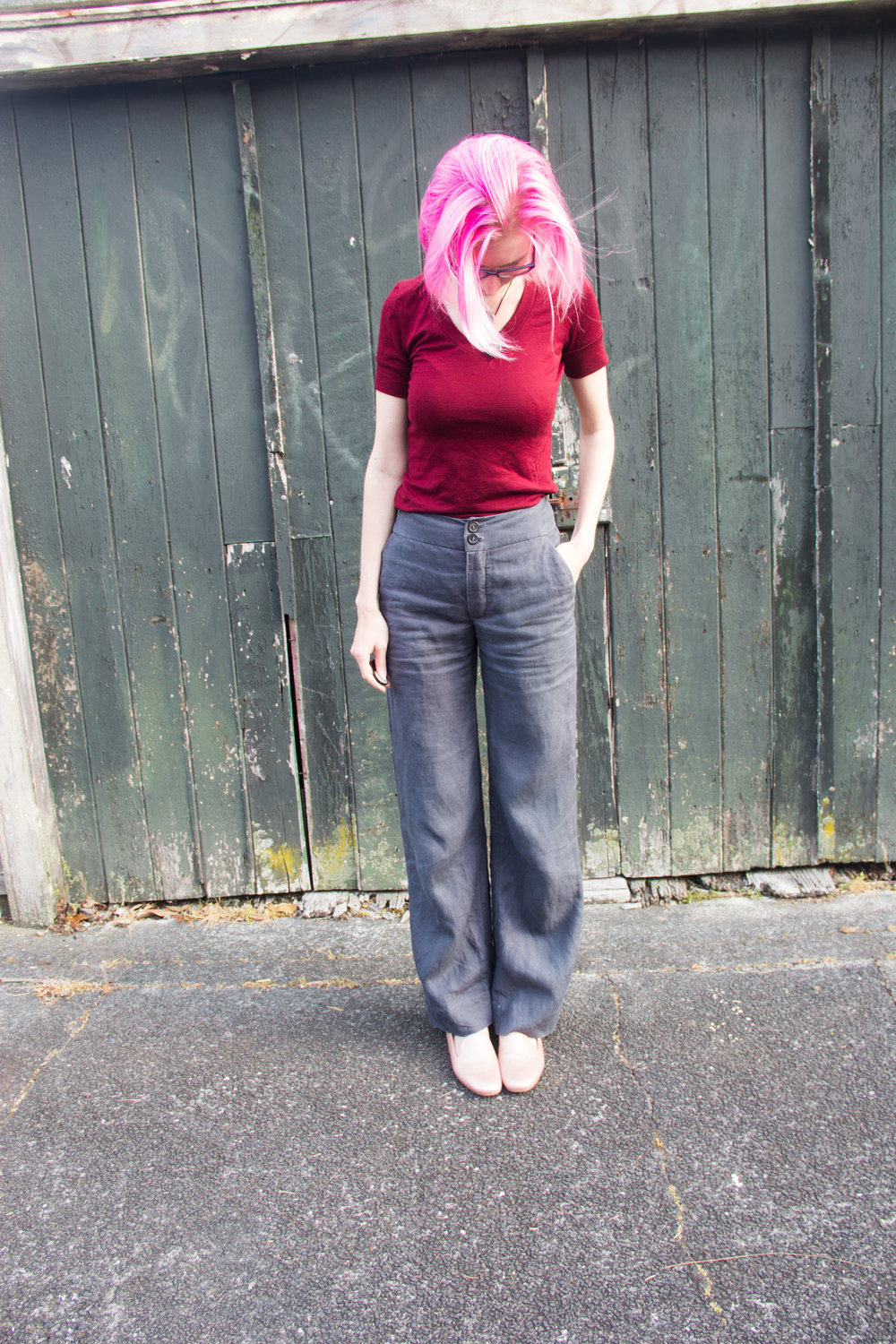 the fabric store linen pants