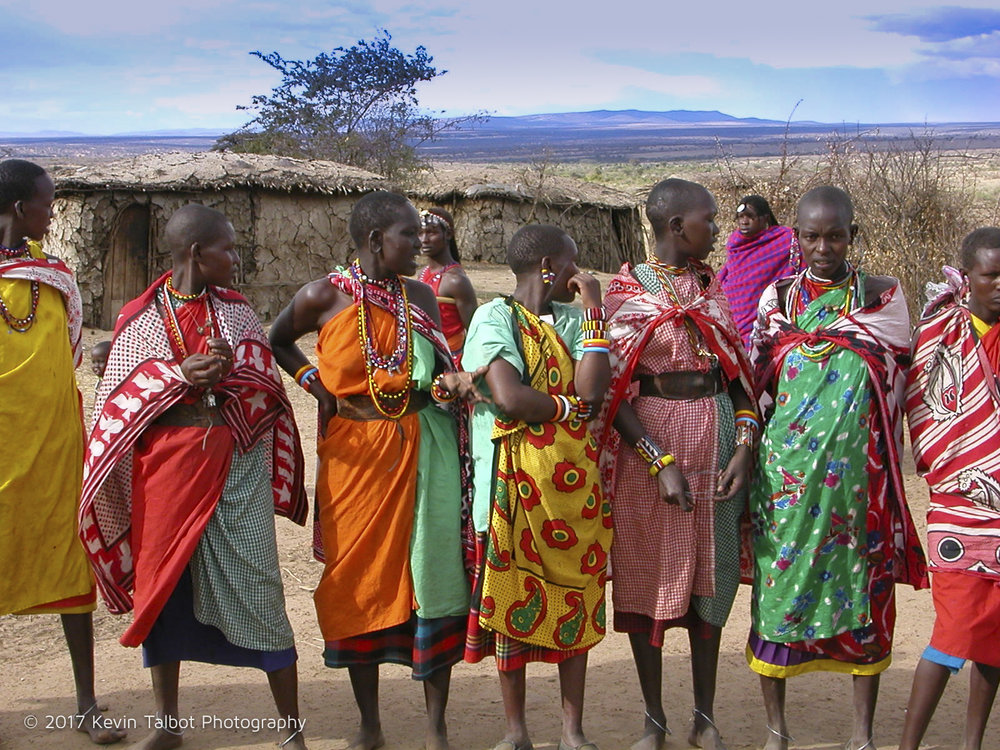 Masai Village Ladies