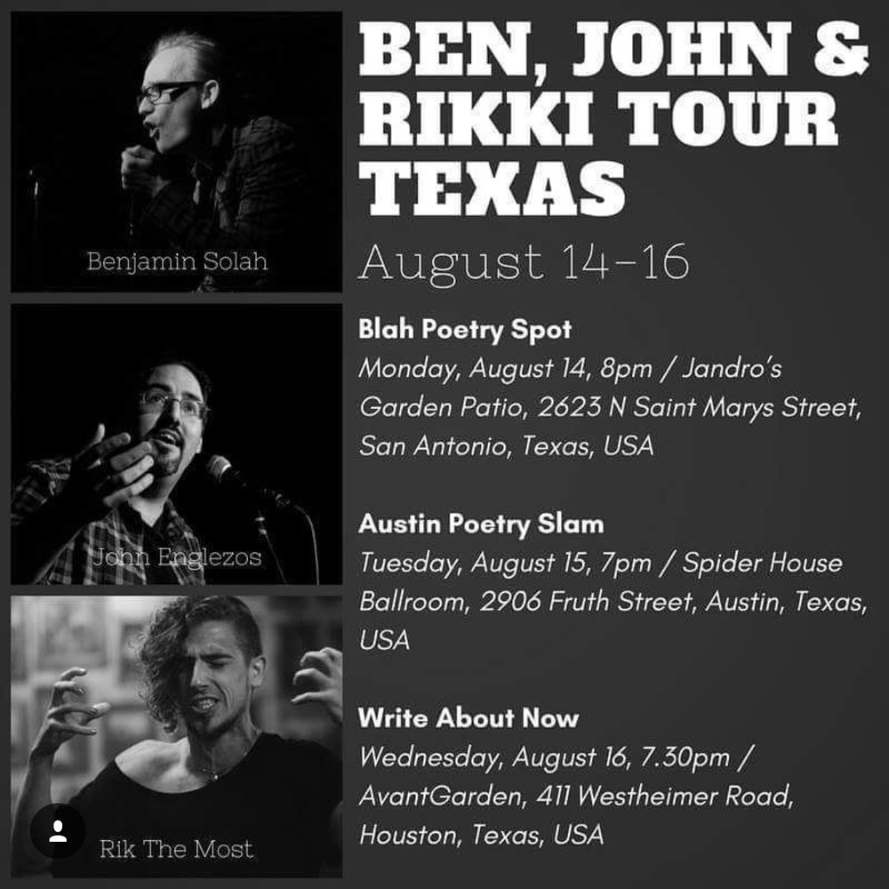 Tour dates.