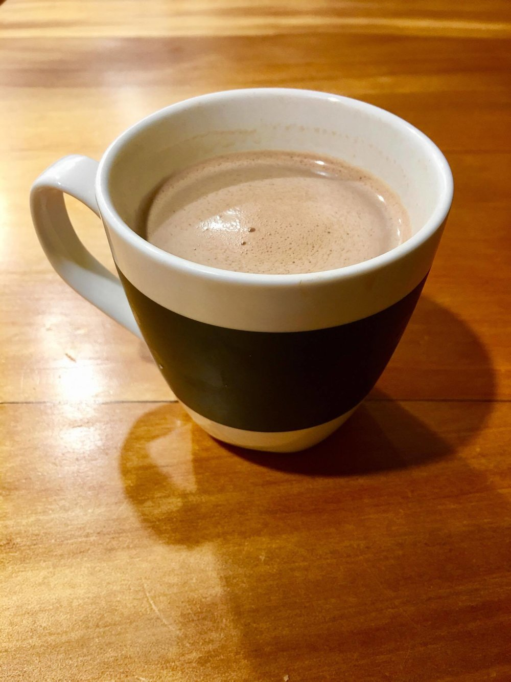 I made this hot chocolate especially for this photo - I am THAT dedicated!