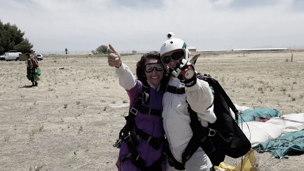 On Location Byron Love (Skydivers Over Sixty California)