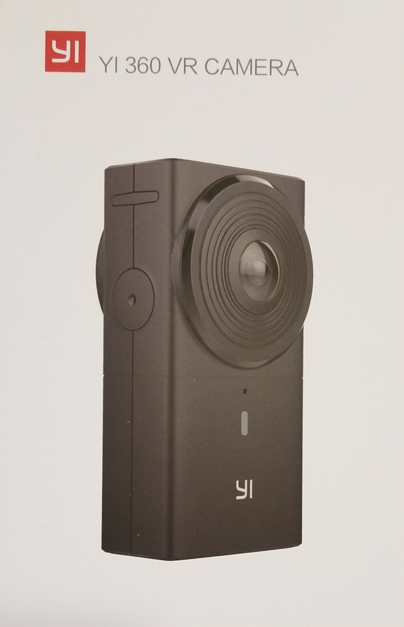 yi 360 virtual reality camera box