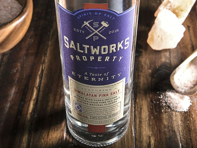Boldly going where no vodka has gone before. . #SaltworksProperty #SaltworksVodka #Saltworks #Vodka