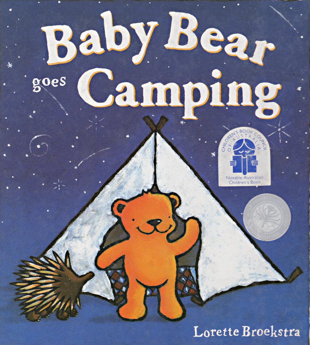 Baby Bear goes Camping