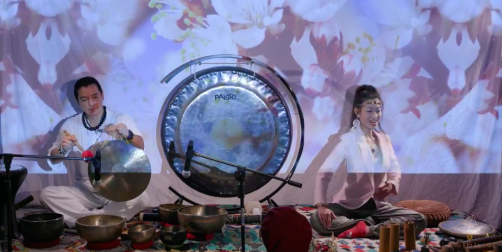 SOUND EXPERIENCE by    SHOKO TAMAI & ALFONSO ALEXANDER