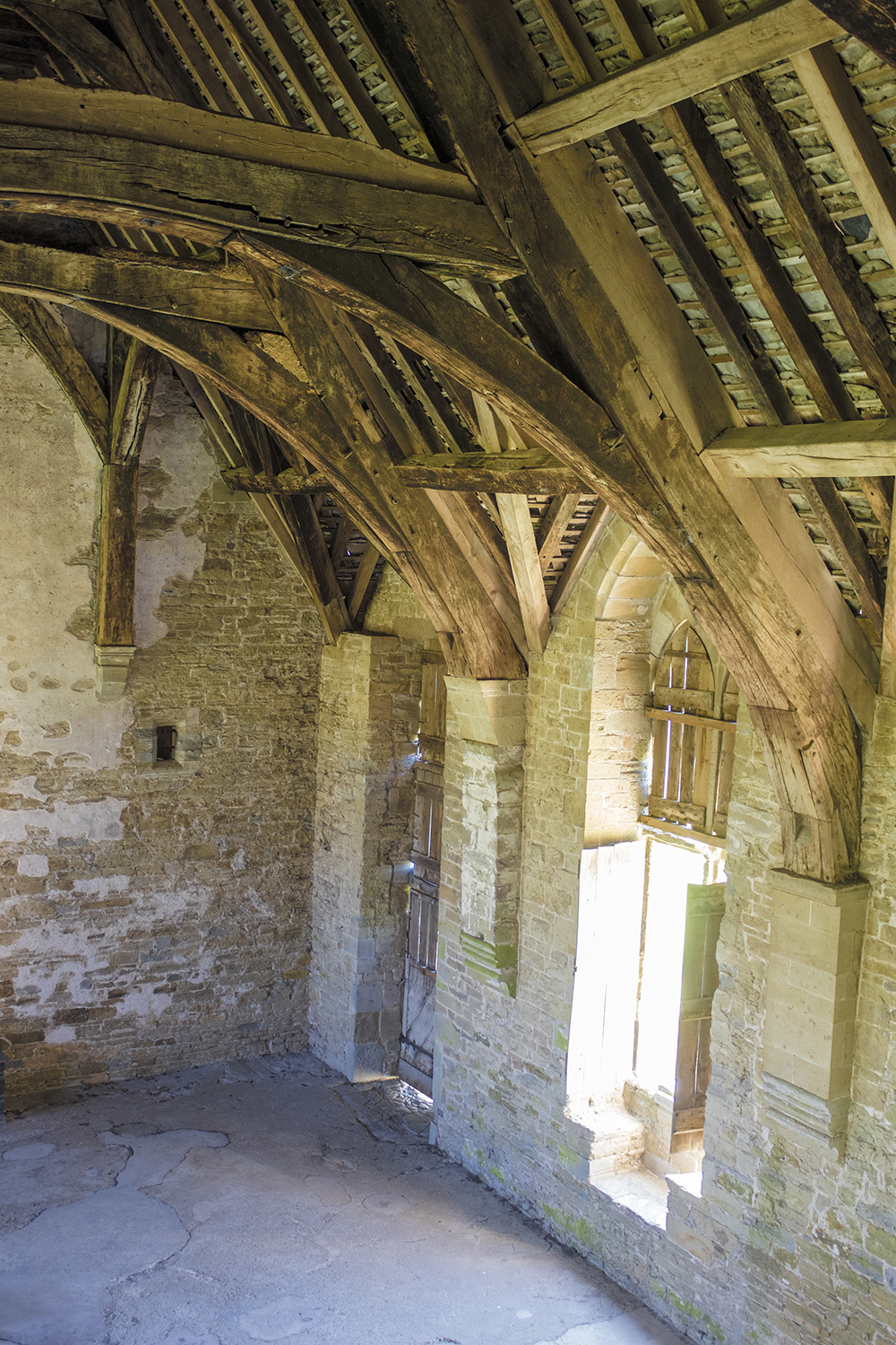 Stokesay Castle interior May 6 2018.jpg