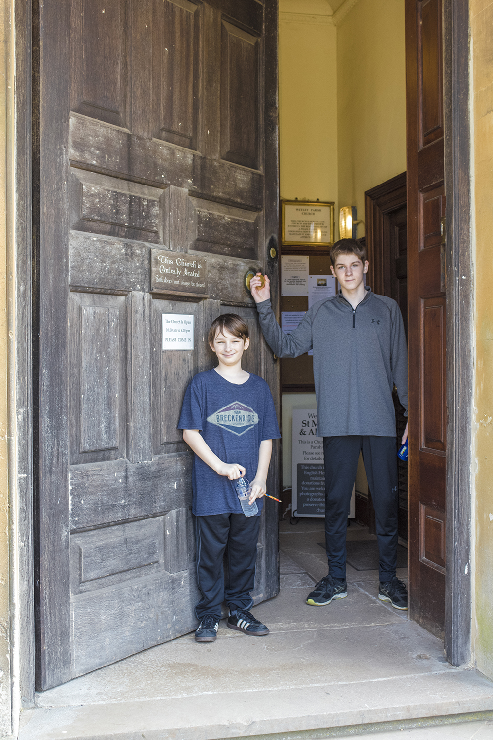 Matthew and Harrison Great Witley Parish Church April 21 2018.jpg