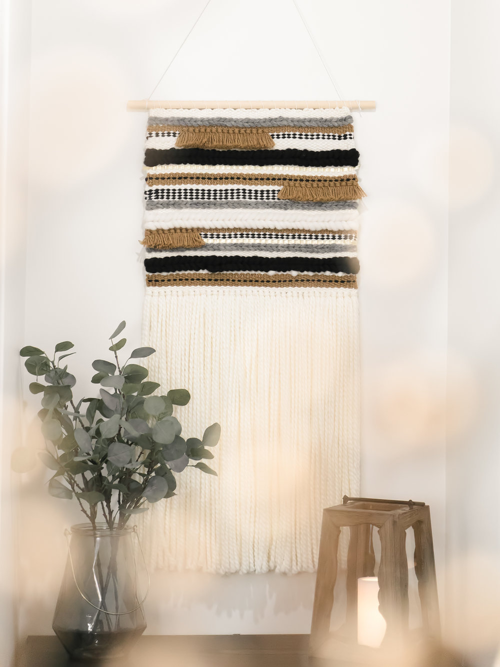 A piece of art and a keepsake. The wall hanging was the inspiration and focal point for pulling together my modern nursery. The texture, the composition and the quality are unparalleled. - -Dallas Spiecker (Merry Golden)