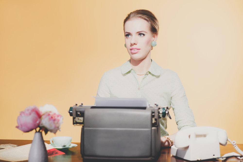 retro secretary