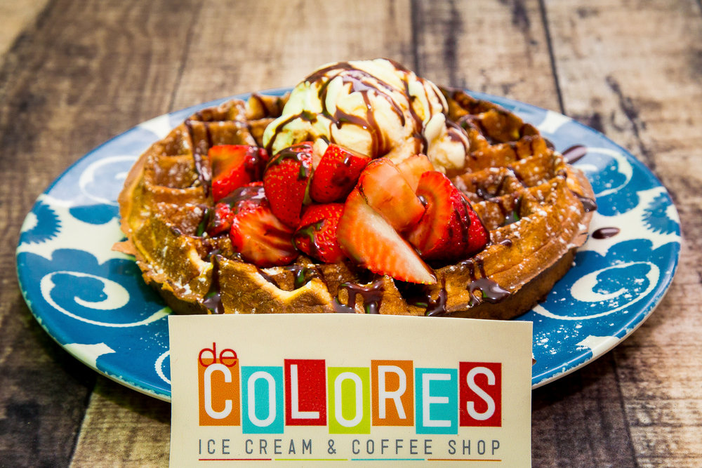 De Colores Waffle woth Ice Cream-0004.jpg