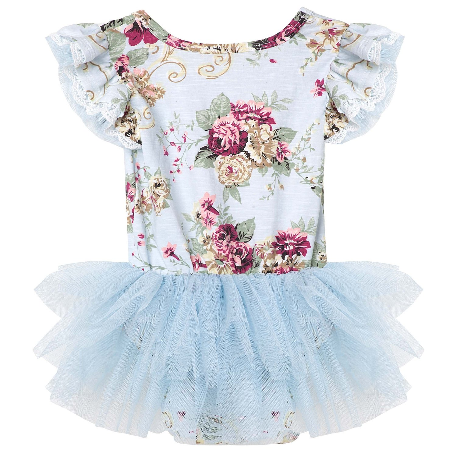 60300ef259a27 Sadie Petti Romper - Blue — Twinkle Toes On The Go