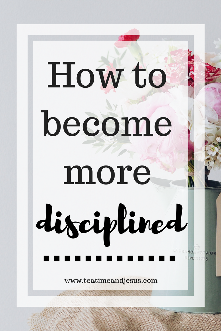 Self-Control is a discipline that many of us struggle with.  We all have areas of our lives that we would love to be more disciplined in, however, our motivation always seems to run out.  Read on to find out 4 steps that you can take to become more disciplined.