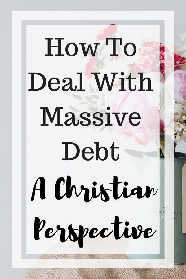 How TO Get Rid of Massive Debt