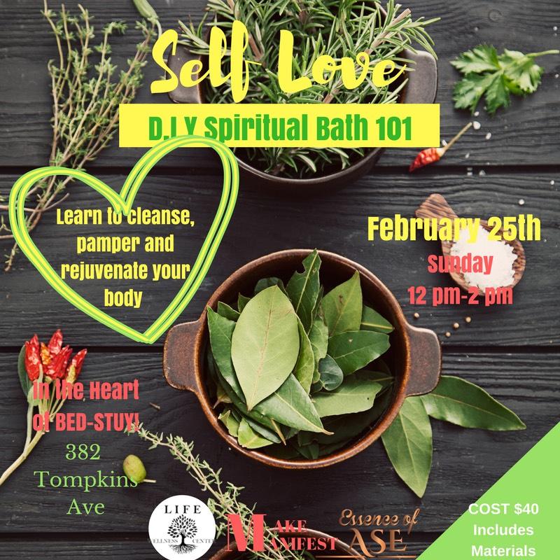 Self Love, D I Y  Spiritual Bath 101 — Life Wellness Center