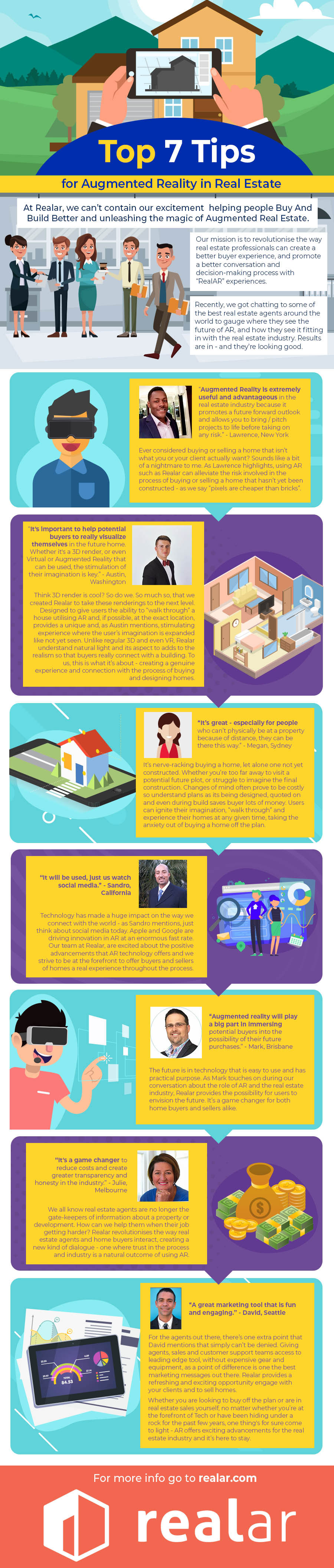 Infographic: Top 7 Tips for Augmented Reality in Real Estate [DOWNLOAD AND SHARE]