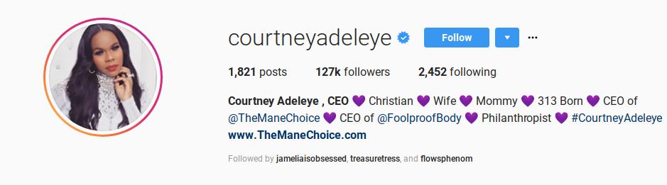 Courtney Adeleye TheManeChoice Foolproofbody