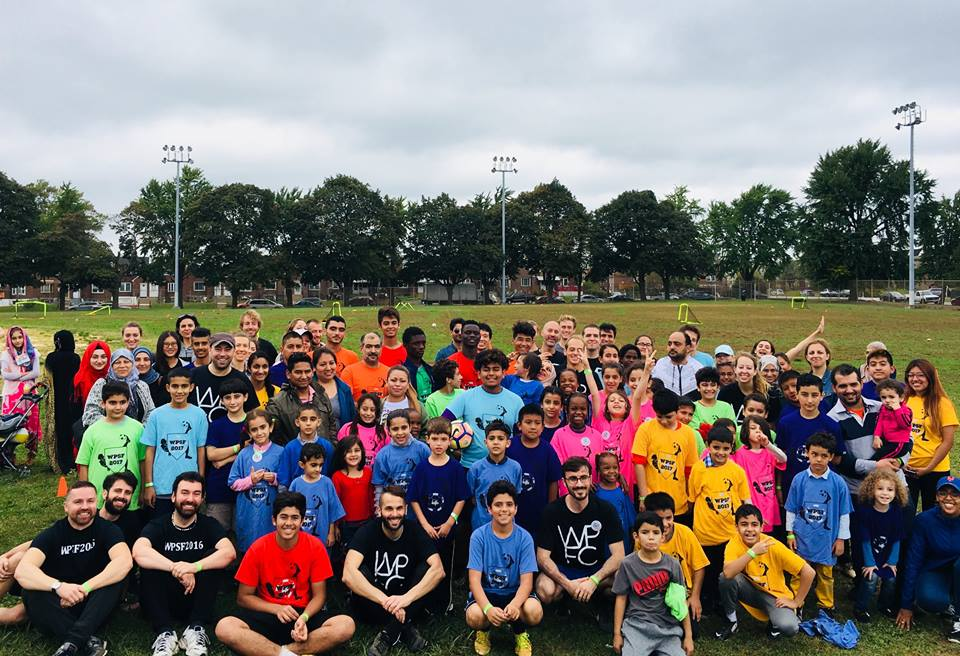 World Philly Soccer Festival 2017. First time in North-East Philly. Great day of soccer with refugee kids from the area.