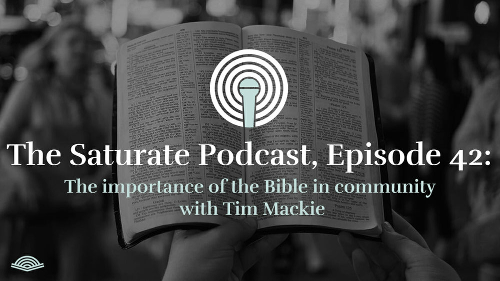 The Importance of the Bible in Community with Tim Mackie - Listen Now
