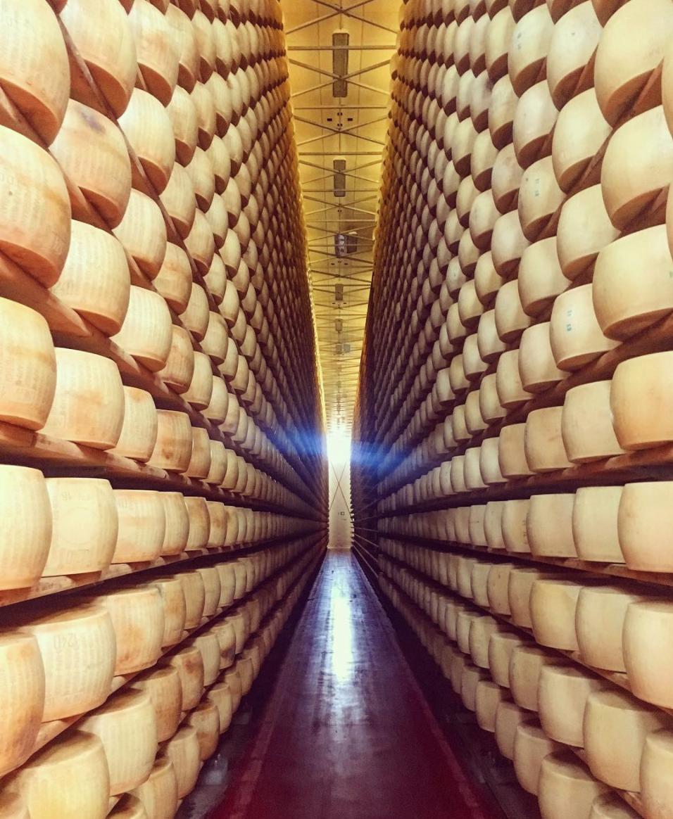 Parmigiano dairy, Modena ITALY