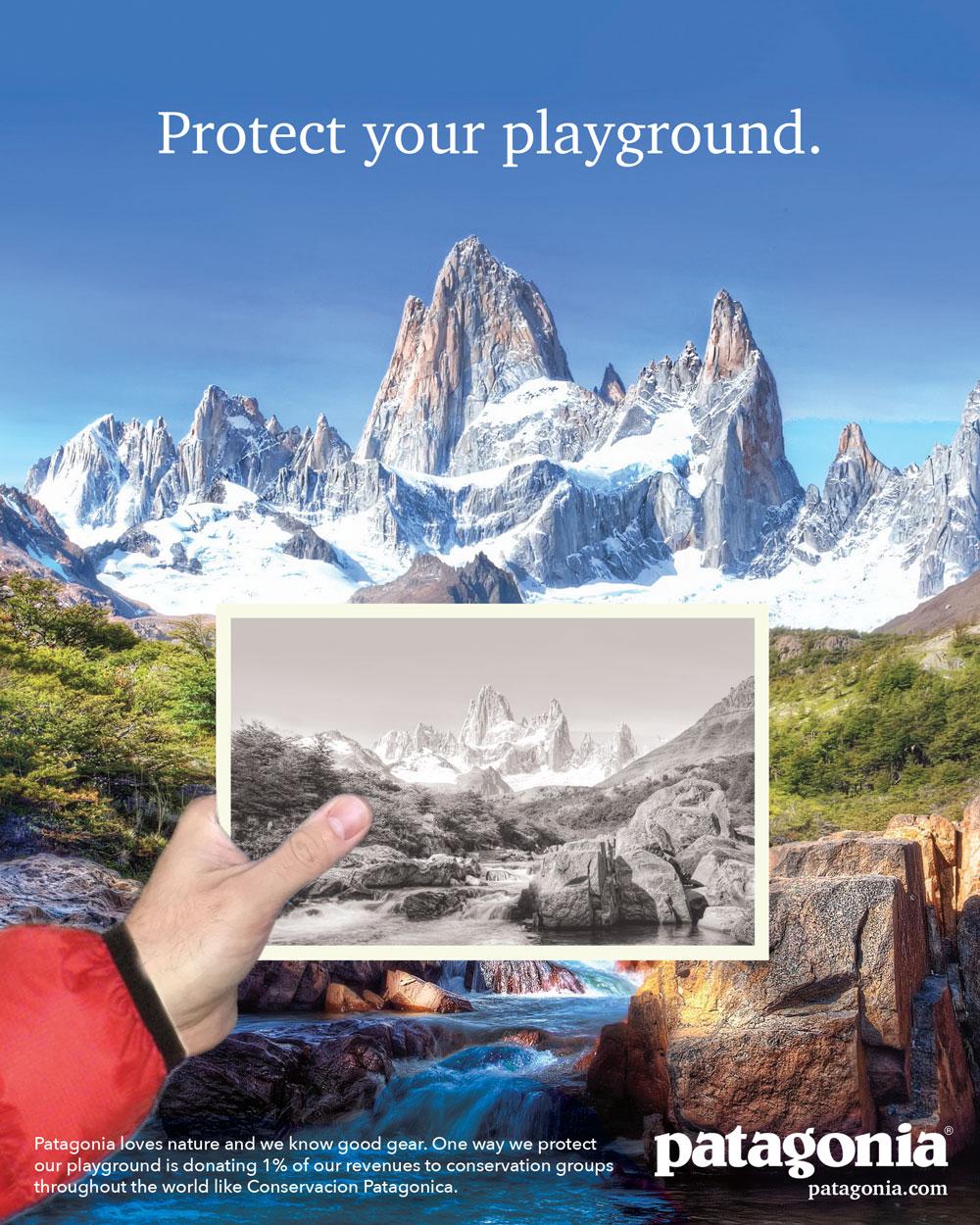 magazine advertisement campaign - print ad 1