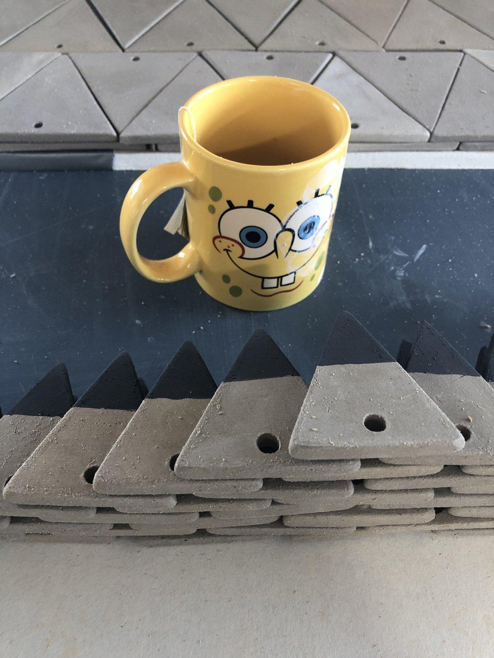 Sponge Bob triangle parts