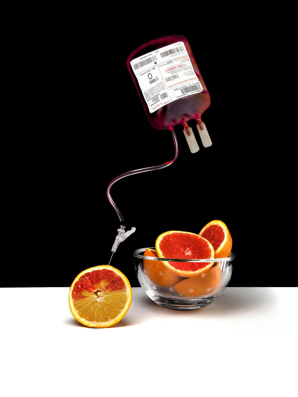 Making Blood Oranges