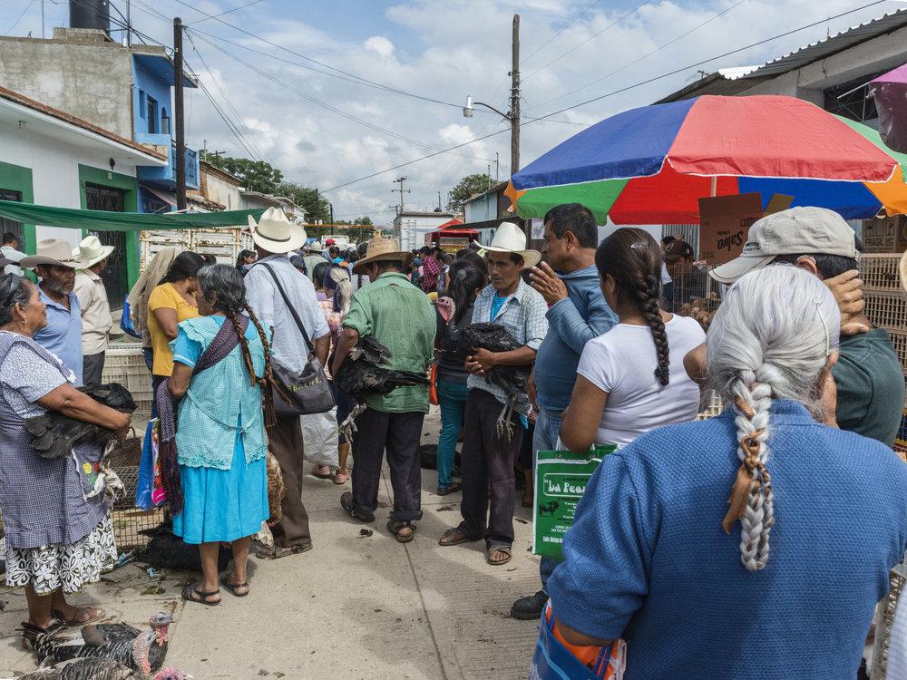 Ococtlán Market