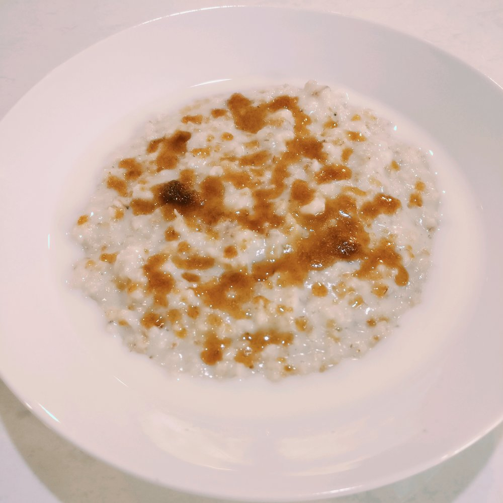 Breakfast - Porridge and/or Toast with Spread