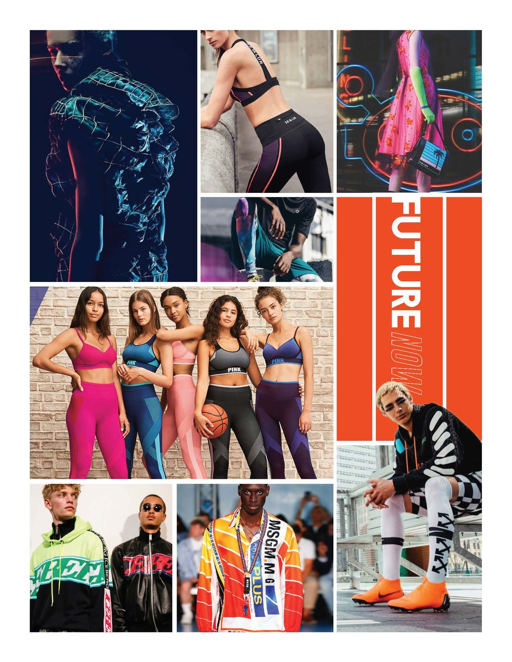 Present meets Future - Bringing futuristic runway trends into our active lifestyle.