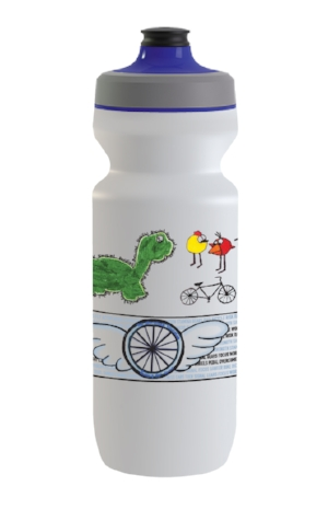 Congratulations Waukesha! - This past fall, we issued a challenge to all of our Riding for Focus schools to submit a design for Specialized custom water bottles with a promise of free bottles and bragging rights to the school to take first prize.Thanks to the creative and whimsical artwork submitted by the Waukesha STEM Academy students, the entry spearheaded by Dan Tuttle, Physical Education Specialist and Cross County/Track & Field Coach. They now have bottles on hand to celebrate their artistic flair and to toast to their success. We took some time to ask them how they came up with the colorful, creative and unique characters. Disney take note!