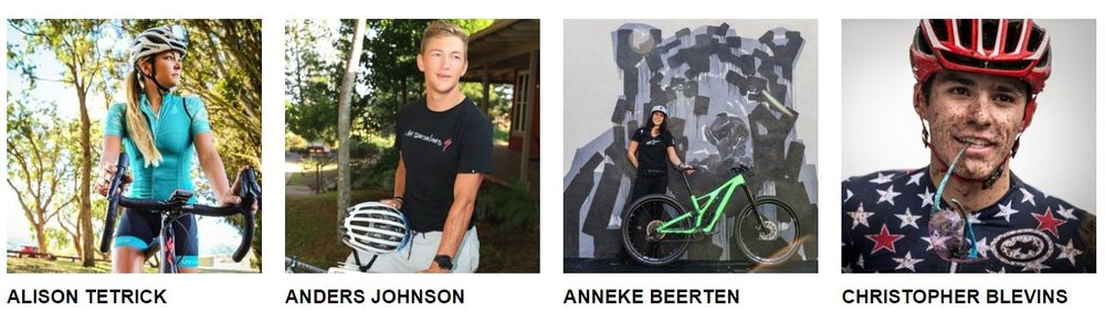 Read more about each and every athlete ambassador on The Specialized Foundation  webpage . Enjoy the ride!