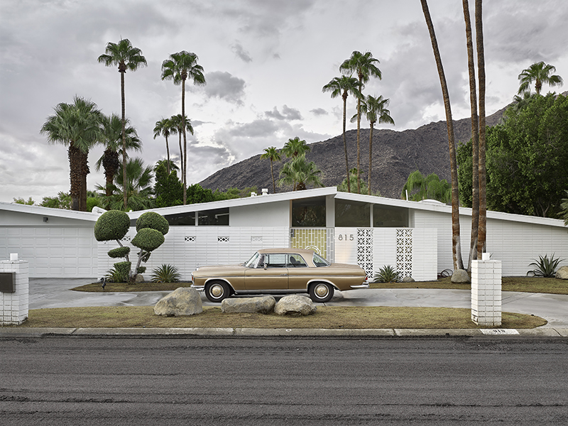 Gold Mercedes, Palm Springs (A4 size)(copy).jpg